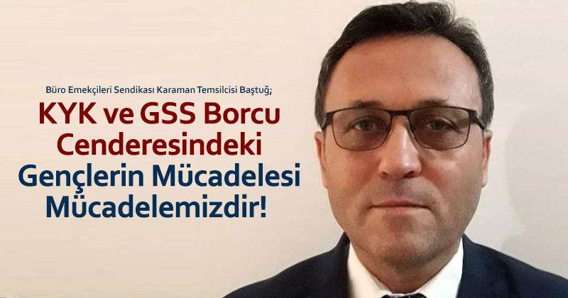 """""""KYK ve GSS Borcu Cenderesindeki Gençlerin Mücadelesi Mücadelemizdir!"""""""