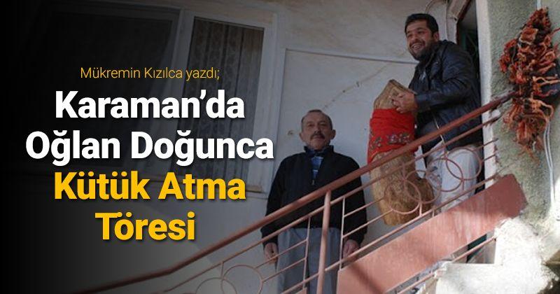 Billet Throwing Ceremony when a Boy is Born in Karaman