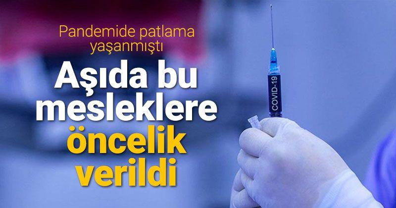 Postacı ve kargoculara aşıda öncelik