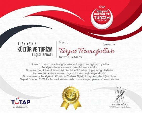 """Torunoğulları has been selected as the Culture and Tourism Ambassador """""""