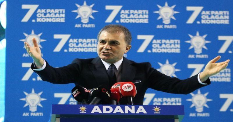 AK Parti Sözcüsü Çelik: Baskılarınıza boyun eğmeyip, size geçit vermeyeceğiz