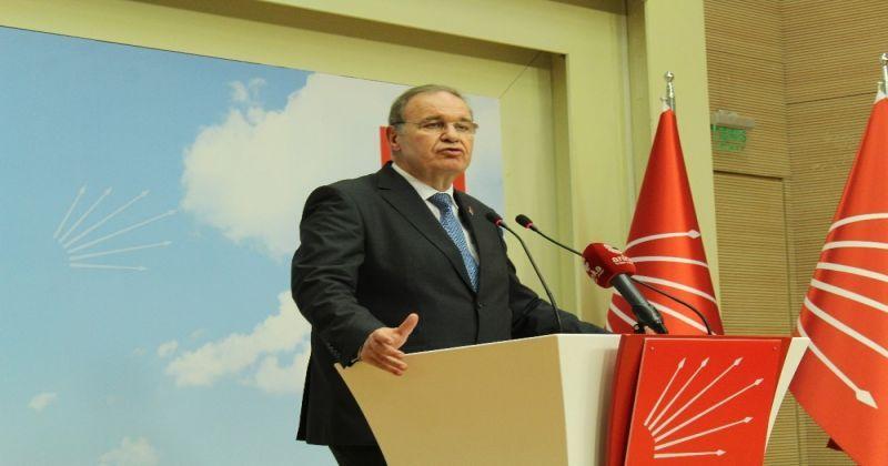 CHP Parti Sözcüsü Faik Öztrak: Sel gider kum kalır