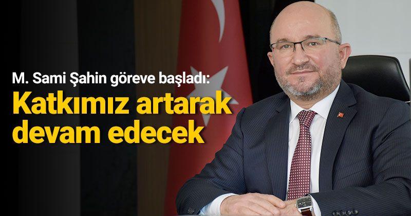 New KOP President Mahmut Sami Şahin Started His Duty