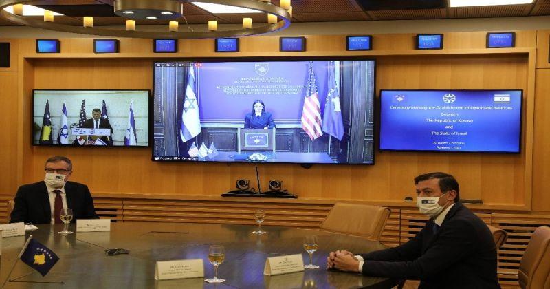 Kosova ile İsrail arasında diplomatik ilişkiler kuruldu