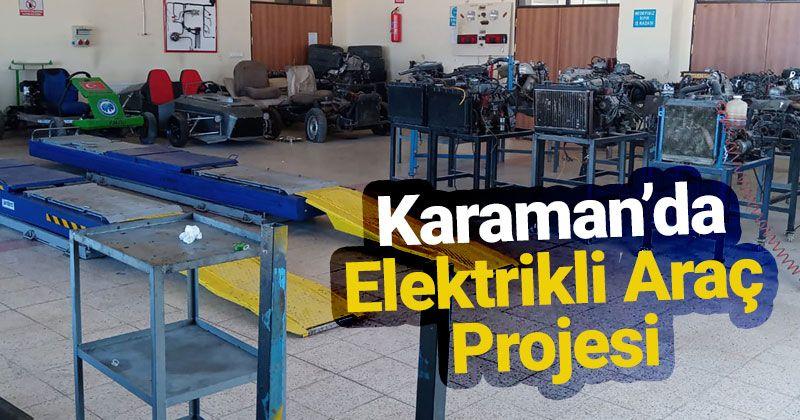 KMÜ'nün Çevre Dostu Elektrikli Araç Projesine MEVKA'dan Destek