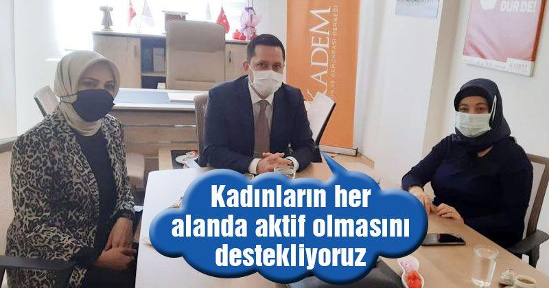 Milletvekili Eser KADEM'i ziyaret etti