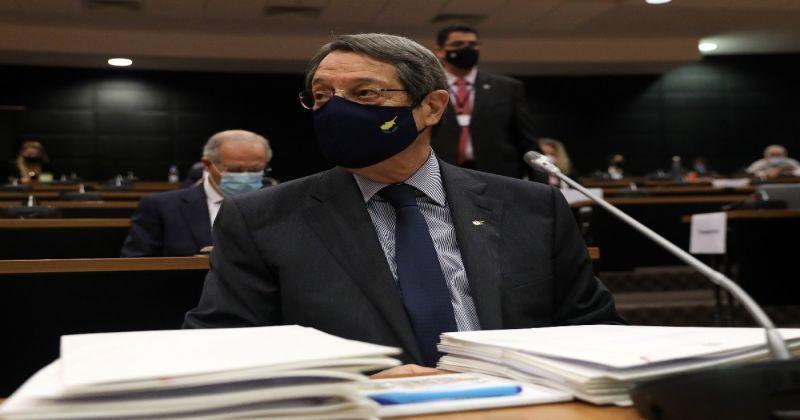"""Anastasiadis, """"altın pasaport"""" skandalı için ifade verdi"""