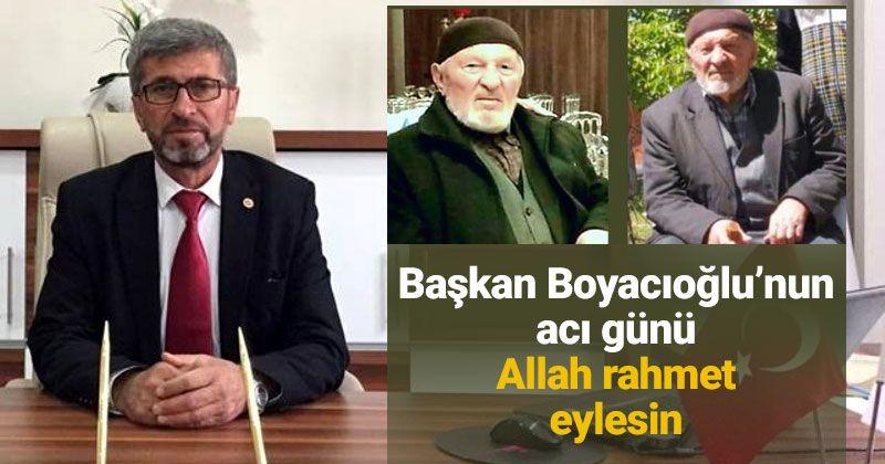Servet Boyacıoğlu passed away