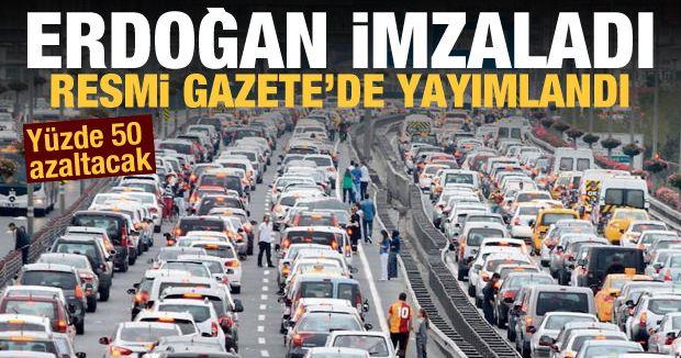 Erdoğan'dan İmzaladı! Resmi Gazetede Yayımlandı