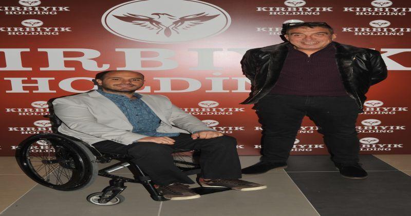 Tekerlekli sandalye teniste uluslararası turnuvalara Kırbıyık Holding ana sponsor oldu