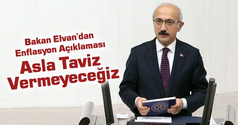 Critical Inflation Statement by Minister Elvan