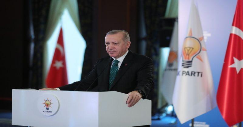 """Cumhurbaşkanı Erdoğan: """"CHP 7/24 açık bir yalan partisine dönüştü"""""""