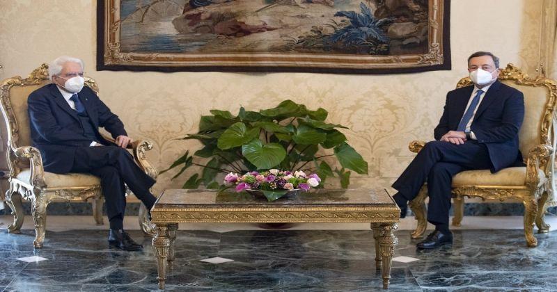 İtalya Cumhurbaşkanı Mattarella, Mario Draghi'yi hükümet kurmakla görevlendirdi