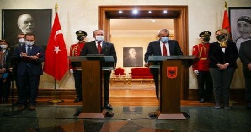 """TBMM Başkanı Şentop: """"Türkiye'de FETÖ terör örgütü büyük ölçüde tasfiye edilmiştir"""""""