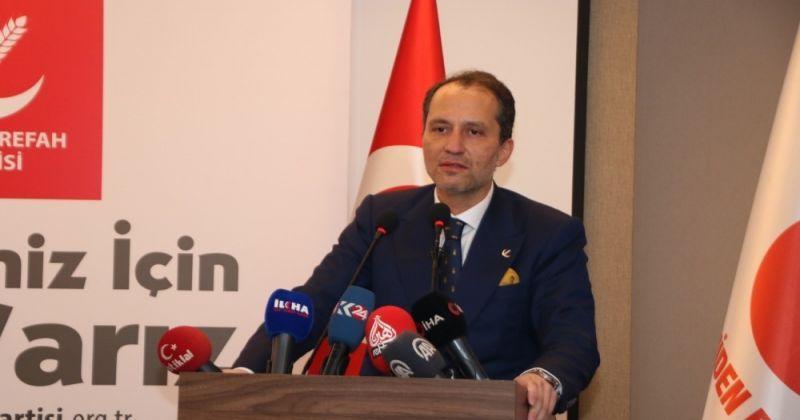 Yeniden Refah Partisi Genel Başkanı Erbakan: LGBT propagandasını tasvip etmemiz asla kabul olamaz