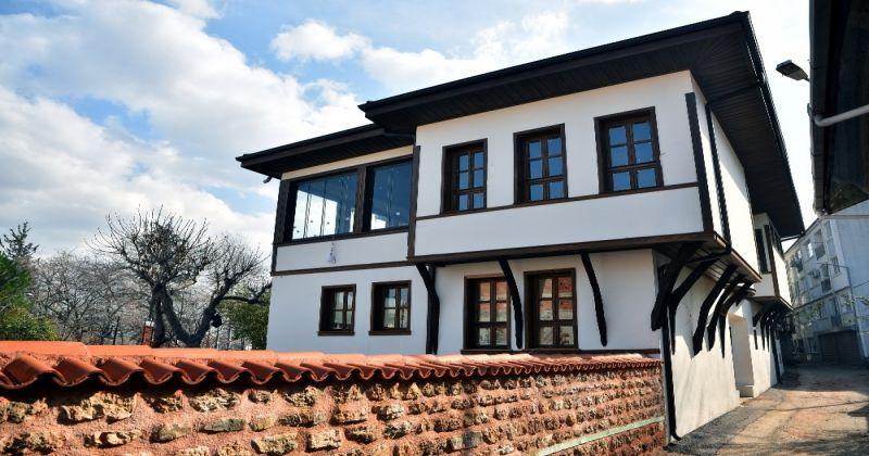 Bursa'da 2 asırlık bina ilk günkü ihtişamına kavuştu