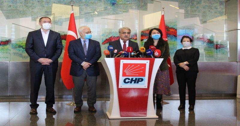 CHP Genel Başkanı Kılıçdaroğlu, HDP'li Mithat Sancar bir araya geldi