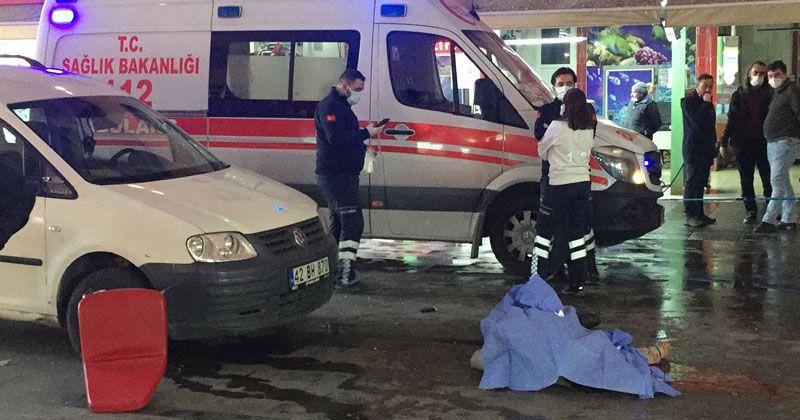 Konya'da balık halinde silahlı kavga: 1 ölü, 5 yaralı
