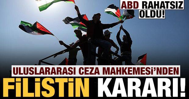 Uluslararası Ceza Mahkemesi'nden Filistin kararı!