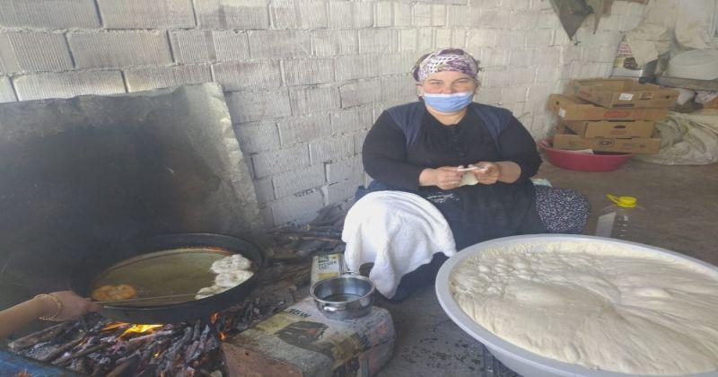 Asırlık el yapımı lokma geleneği yaşatılıyor