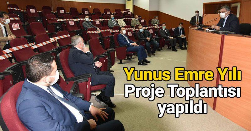 Yunus Emre Year Activities Project Meeting Held