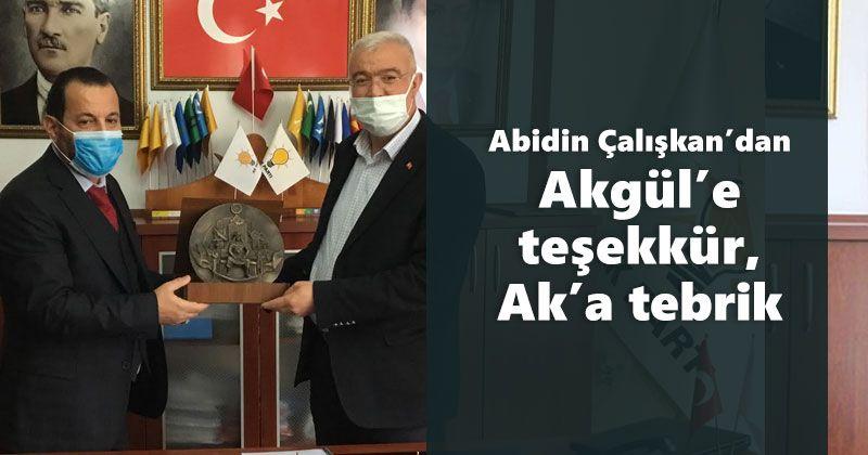 Thanks to Akgül from Abidin Çalışkan, congratulations to Ak