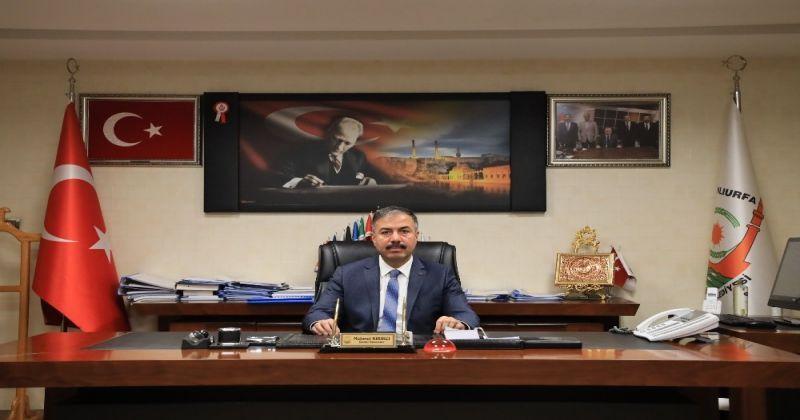 Şanlıurfa'da genel sekreter istifa etti