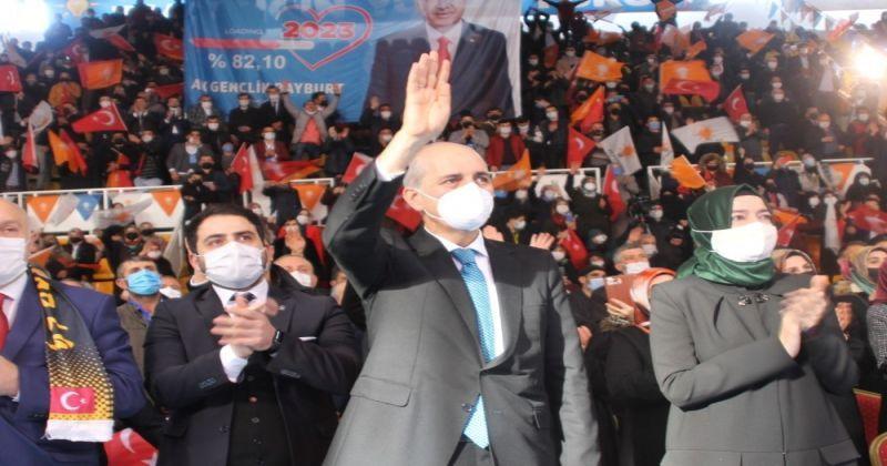AK Parti Genel Başkanvekili Numan Kurtulmuş: Biz gavurun ne dediği değil milletin ne dediğine bakıyoruz