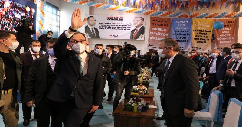 Gençlik ve Spor Bakanı Kasapoğlu, AK Parti Niğde İl Kongresi'nde konuştu