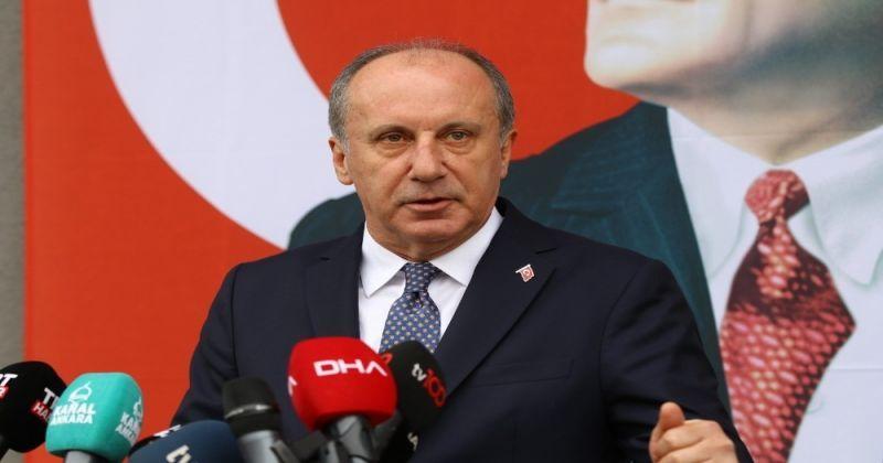 Memleket Hareketi Lideri İnce: İşgal altında olan Atatürk'ün emanetini işgalden kurtarmak için terk ediyorum