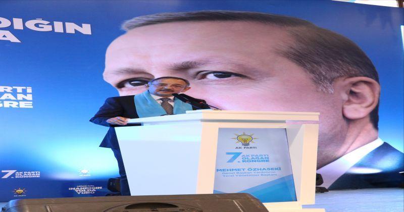 Özhaseki ve Kandemir, AK Parti Niğde 7. Olağan İl Kongresi'ne katıldı