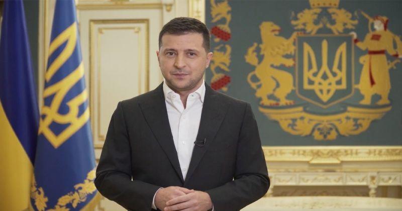 President of Ukraine Zelenskiy: