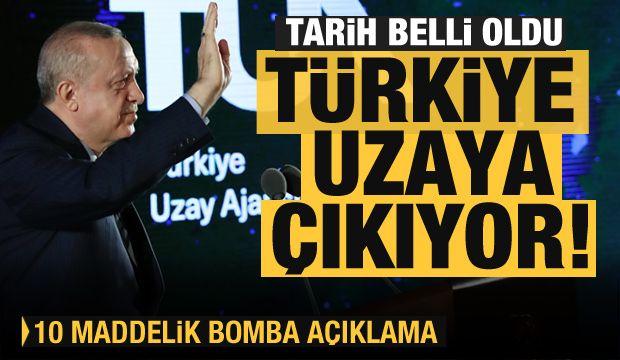 Türkiye uzaya çıkıyor!