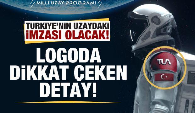 Türkiye Uzay Ajansının logosunda dikkat çeken detay!
