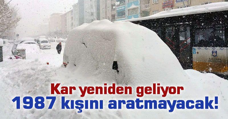 Karaman'a etkili kar yağışı geliyor!