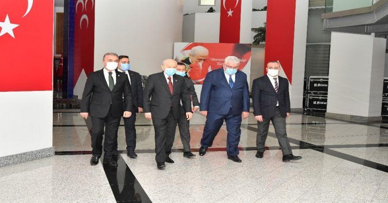 """Bahçeli: """"AYM'nin hak ihlali kararı, söz konusu CHP'liye otomatik olarak milletvekilliği sıfatı kazandırmayacaktır"""""""