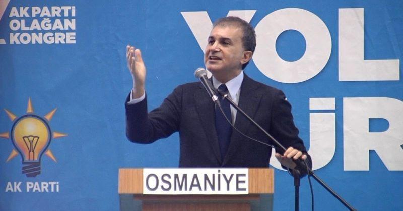 """AK Parti Sözcüsü Çelik: """"Terör devletini darmadağın ettik, sınırlarımızdan teröristleri söküp attık"""""""