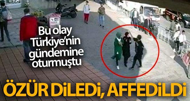 Karaköy'de başörtülü sanıklara saldırı davasında müştekiler sanığı affetti