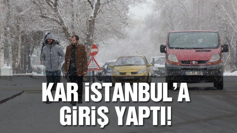 Meteoroloji açıkladı! Tüm Türkiye donacak, İstanbul'da kar yağışı başladı