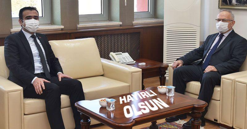 Başkan Kalaycı'dan Rektör AK'a Ziyaret