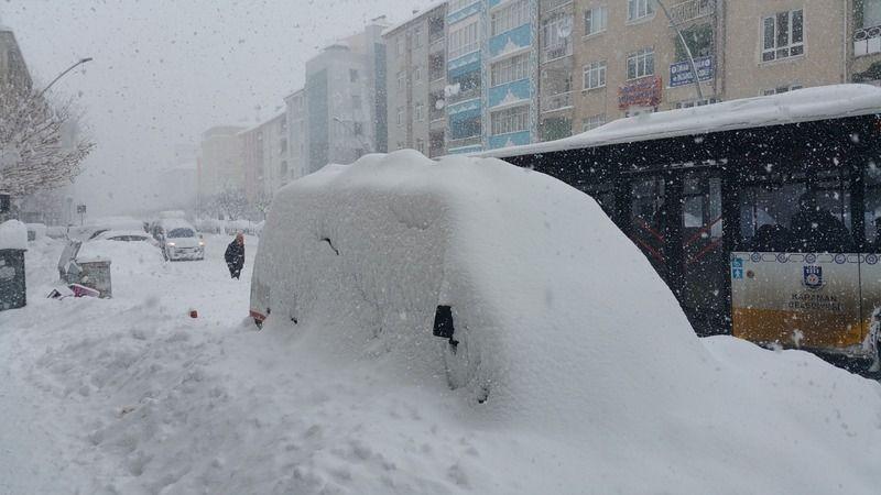 Karaman için yoğun kar yağışı bekleniyor