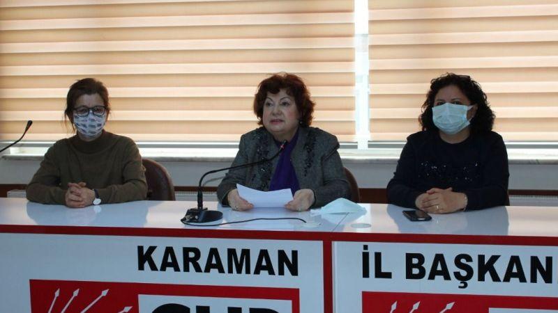 CHP Karaman Kadın Kolları: Dayanışma içinde haklarımızı haykıracağız
