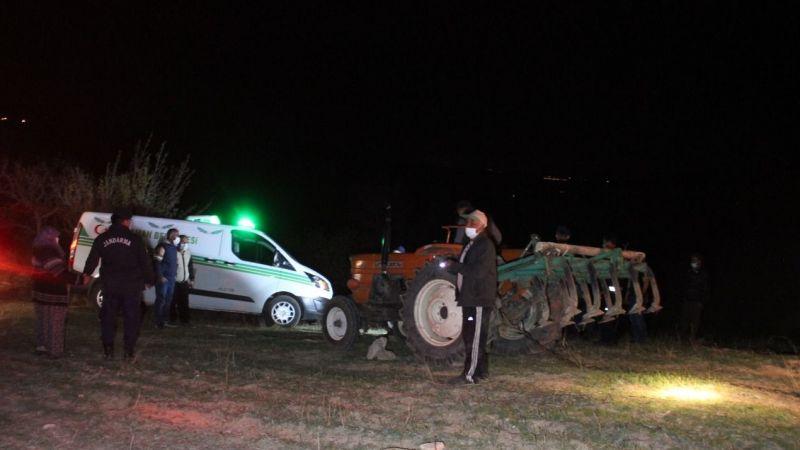 Traktörün altında ölü bulundu