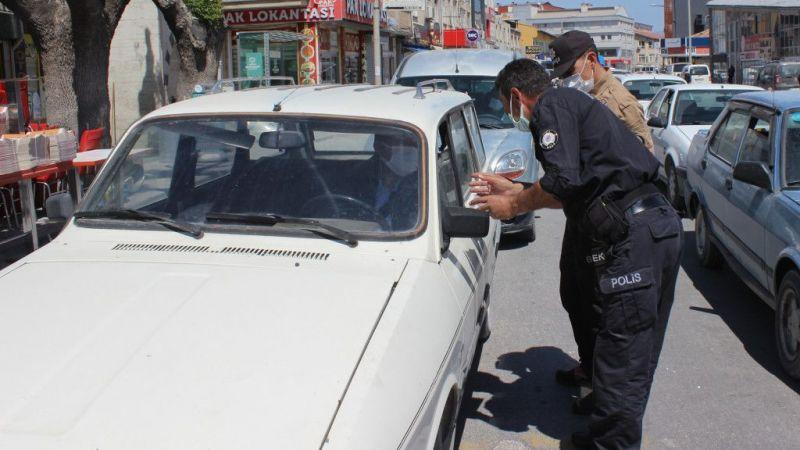Karapınar'da Kovid-19 tedbirlerini ihlal eden 83 kişiye para cezası