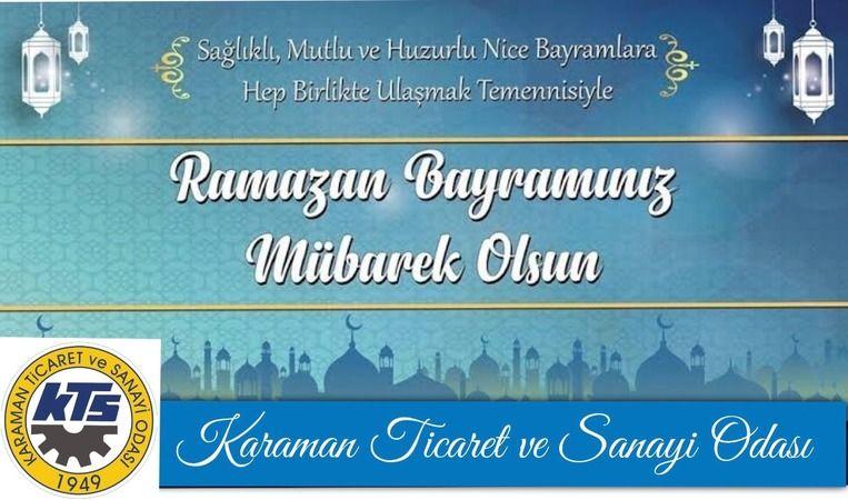 KTSO´dan Ramazan Bayramı Kutlama Mesajı
