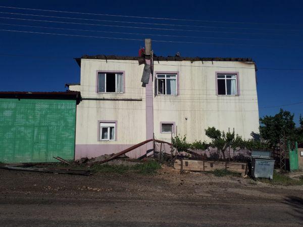 Karaman'da çıkan yangın bir evde hasara yol açtı
