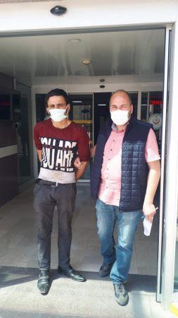 Konya'da evin su sayacını sökmeye çalışan şüpheli suçüstü yakalandı