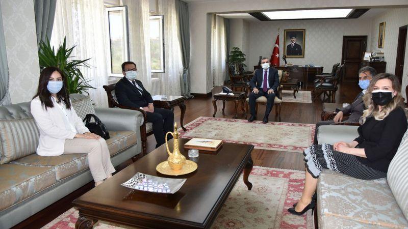 Sosyal Güvenlik Kurumu Karaman İl Müdürü Fındık'tan Vali Işık'a ziyaret