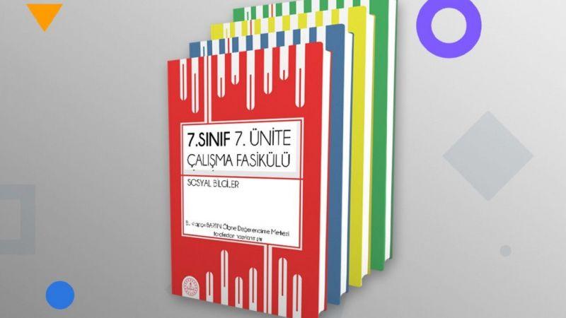 Ortaokul öğrencileri için hazırlanan çalışma fasiküllerinin 7. ve 8. üniteleri yayımlandı