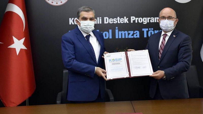 KOP'tan Karaman'a 10 Milyon Liralık Destek